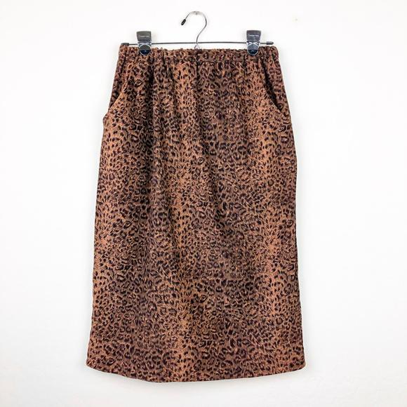 Dresses & Skirts - Cheetah Print Skirt with Pockets